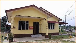 Gambar luar inap desa (homestay) De5 Homestay di Mukim Delima, Wakaf Bharu. Terletak di sebelah jalan Bunut Susu berhadapan Masjid Mukim Delima.