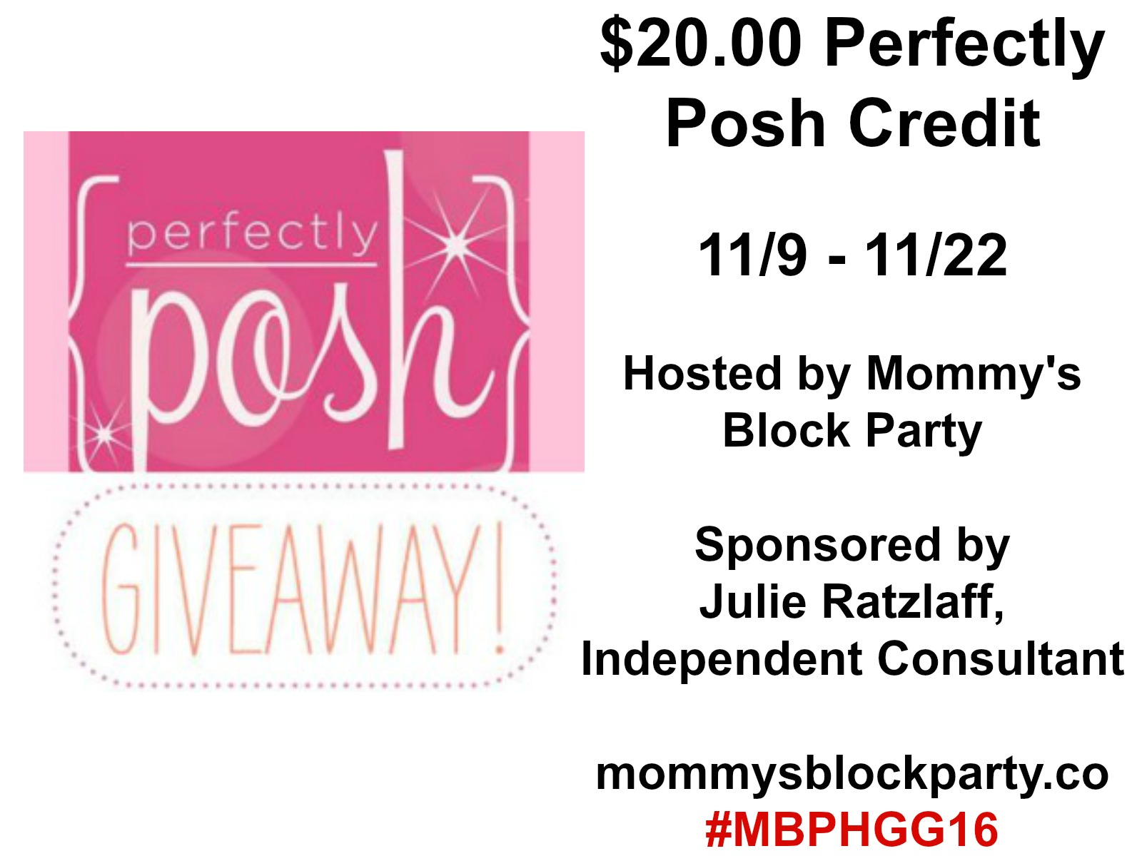 Mommy s Block Party Perfectly Pampered for the Holidays in