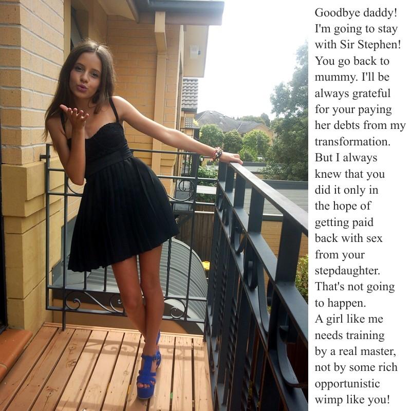 Adventures of a Sissy Slut Slave Goodbye daddy