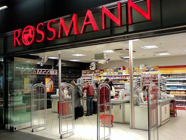 Loja Rossmann em Berlim