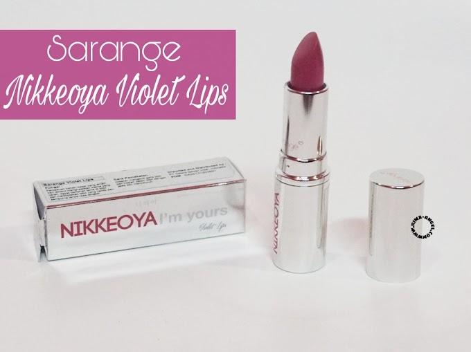 Review Sarange Nikkeoya Violet Lips