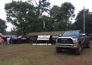 Tenda Panitia Jambore American Jeep 2018 Cibubur