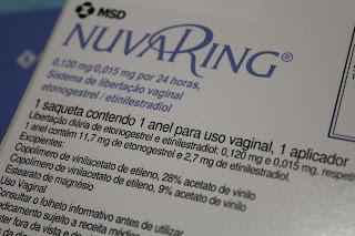 Onde devo guardar o anel vaginal nuvaring®?