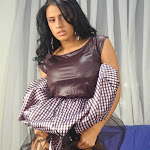 Andrea Rincon, Selena Spice Galeria 15: Vestido Cafe, Falda a Cuadros Foto 66