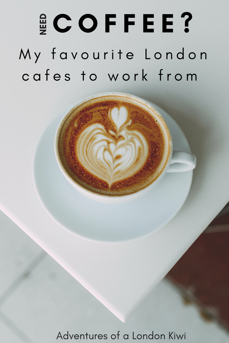 My Favourite London Coffee Shops To Work From Adventures