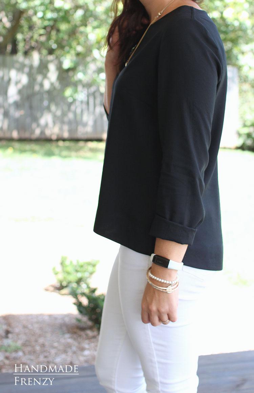 Grainline Hadley Top // Sewing For Women