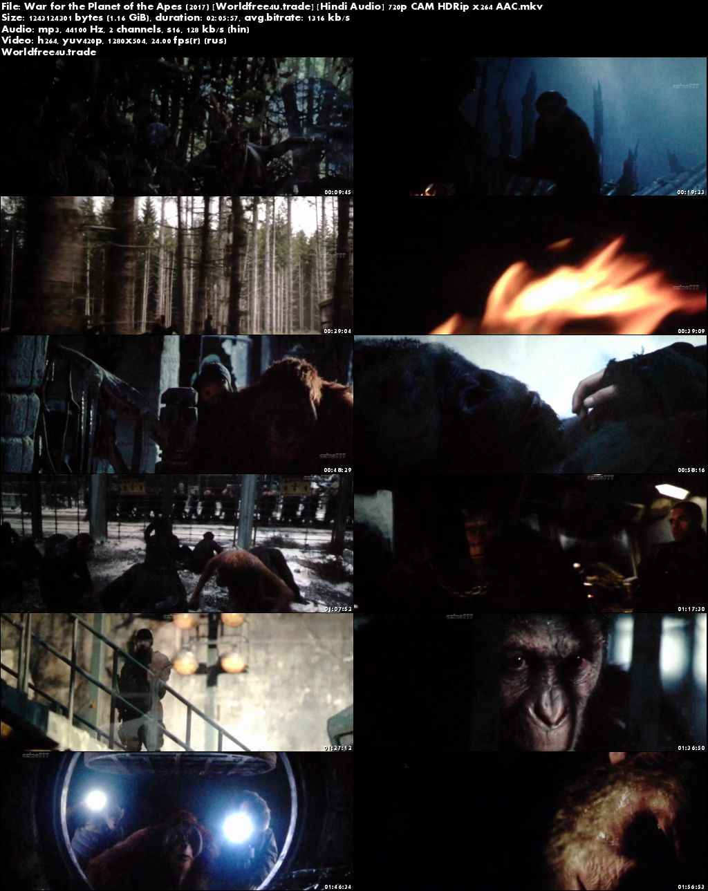 war of the planet of the apes full movie download in hindi hd 720p