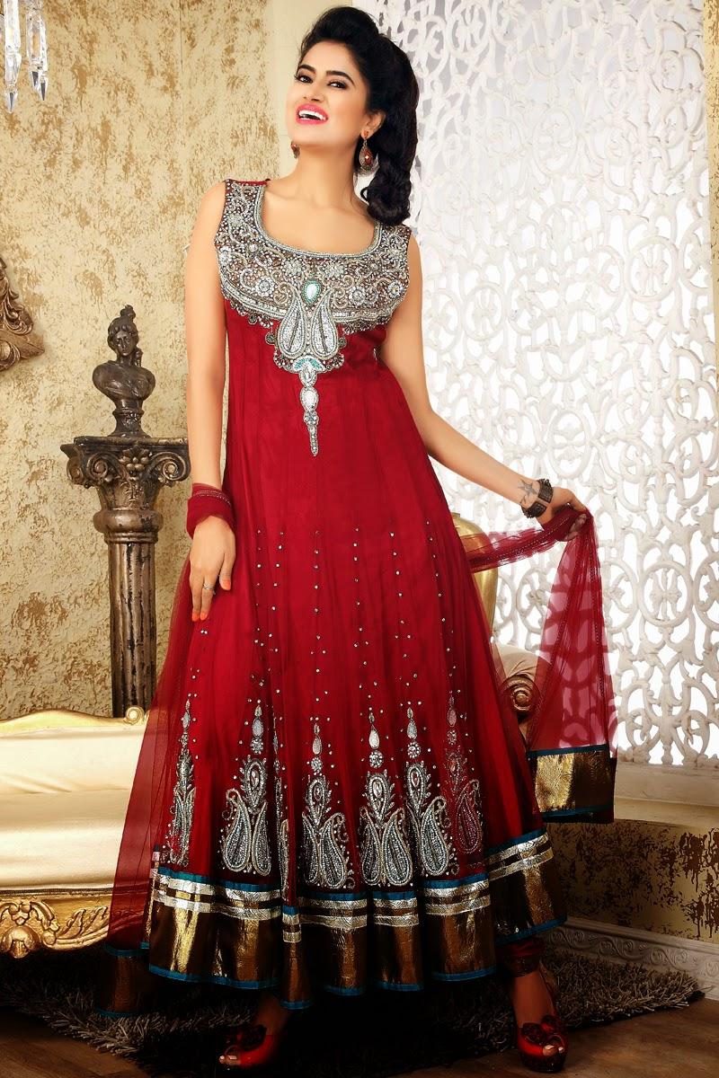 Sip Blog For All Latest Fashion Anarkali Long Frock Design