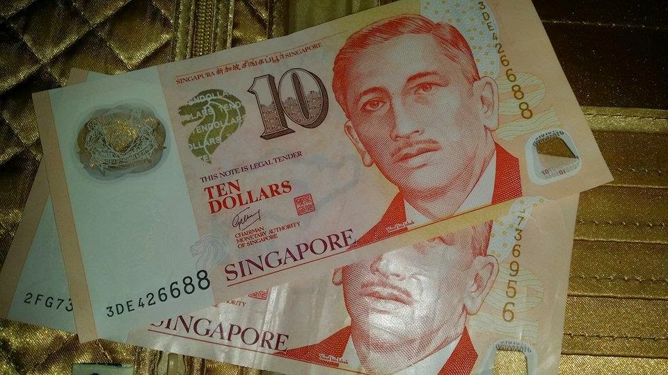 Singaporean Dollars $10 SGD