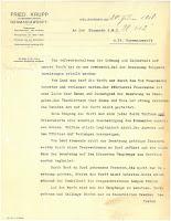 Letter U-112, front