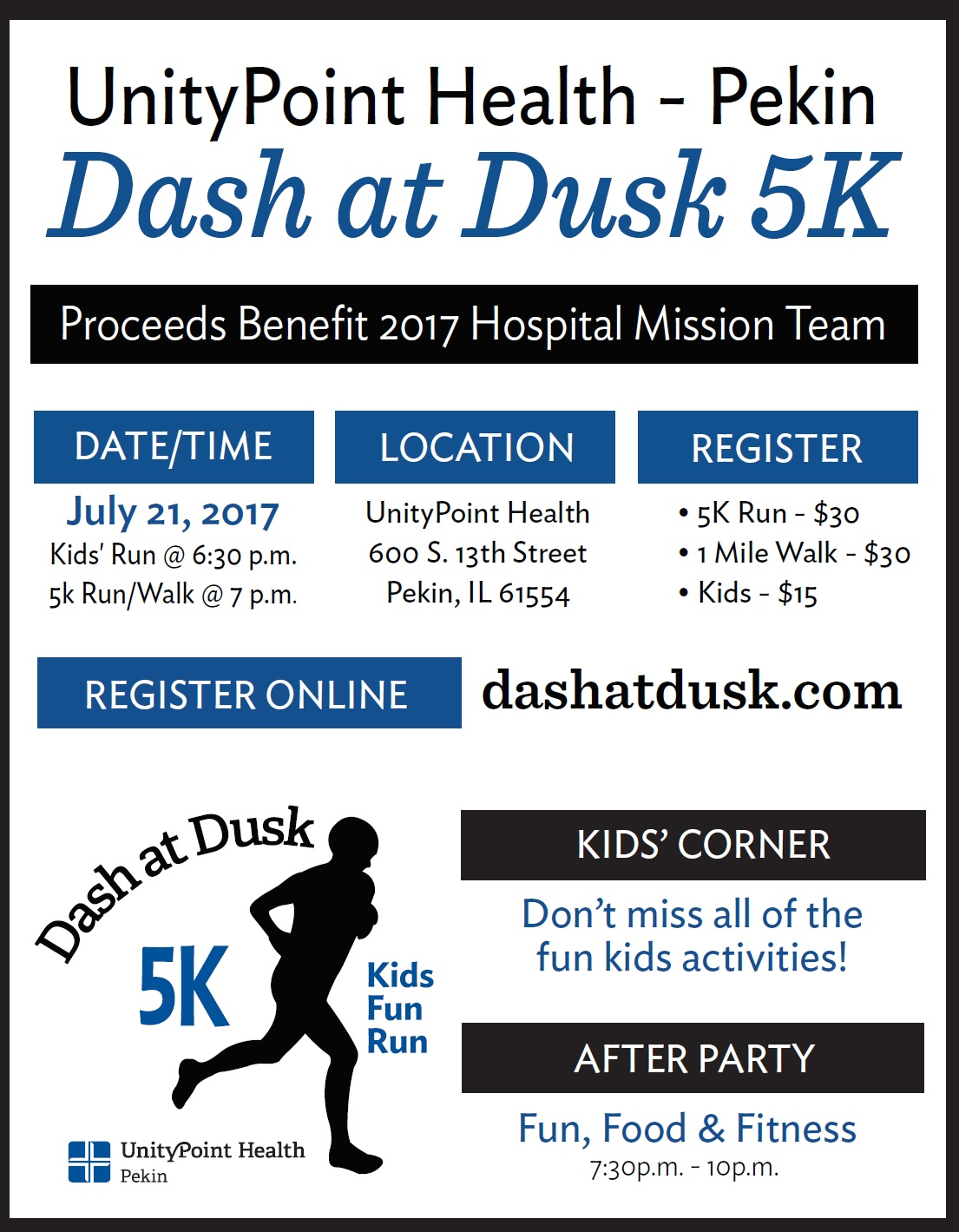 Pekin Area Chamber of Commerce: Dash At Dusk