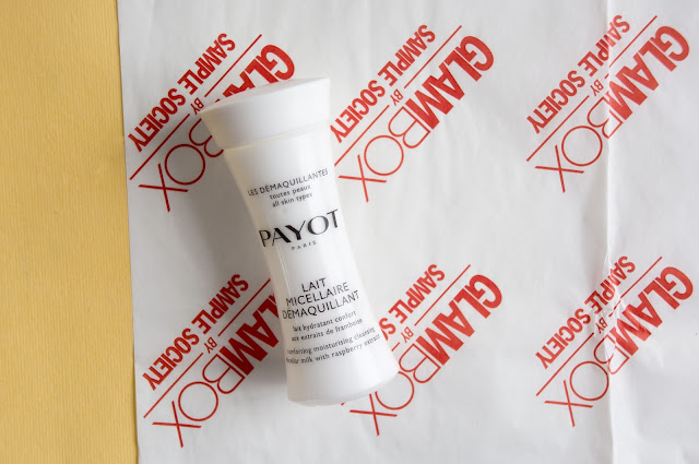 Очищающее молочко с экстрактом малины Payot Lait Micellaire Demaquillant