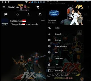 BBM Mod Kartun v2.12.0.9  Apk Terbaru dan Terlengkap