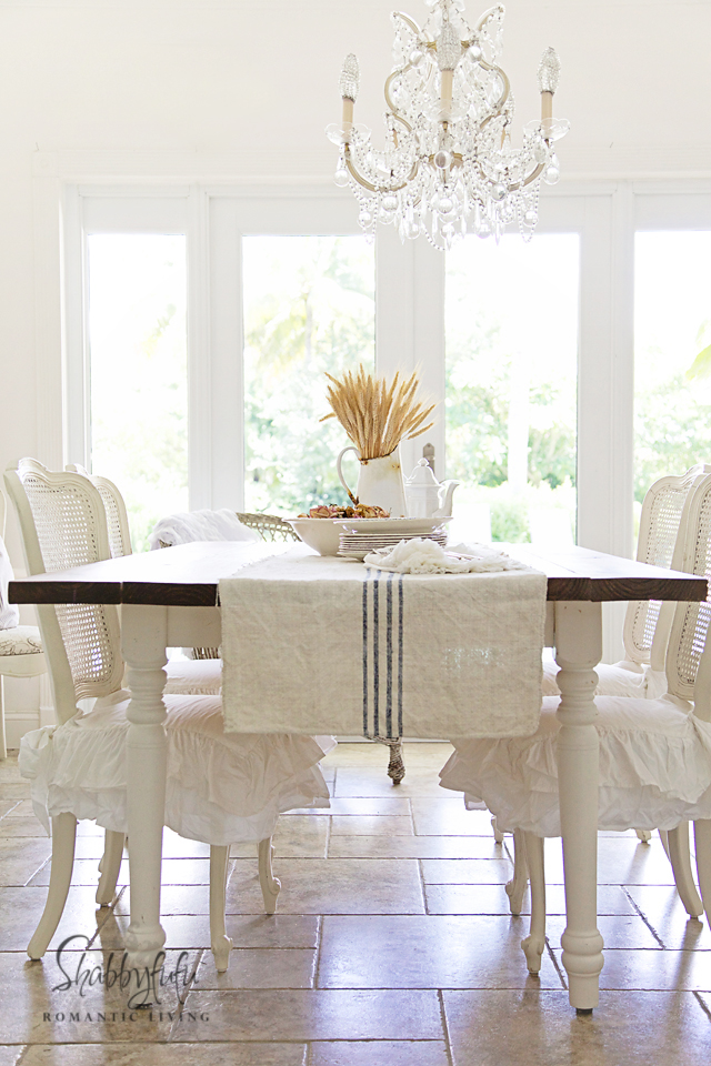 French country decor ideas shabbyfufu for B q dining room ideas