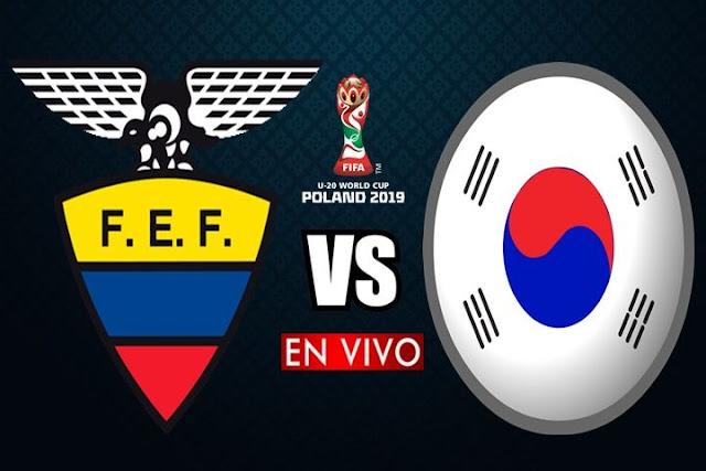 Ecuador se mide ante Corea del Sur en vivo 📺 a partir de las 13:30 horario local a efectuarse en el Estadio Arena Lublin por la Semifinal del Mundial Polonia 2019, siendo el árbitro principal Michael Oliver de nacionalidad inglesa con emisión de los medios oficiales Canal Uno y DirecTV Sports.