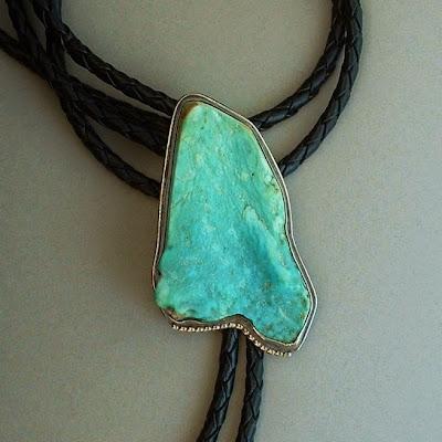 Vintage Navajo Turquoise Bolo