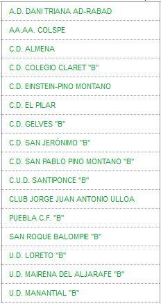 Calendario De 2020 Completo.Ud Manantial Union Deportiva Manantial Temp 2019 2020