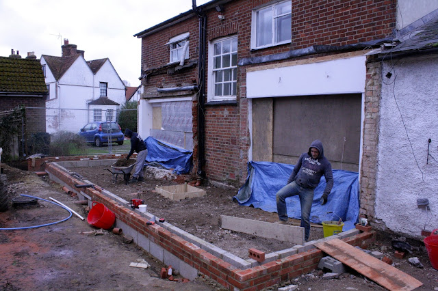 extension groundworks
