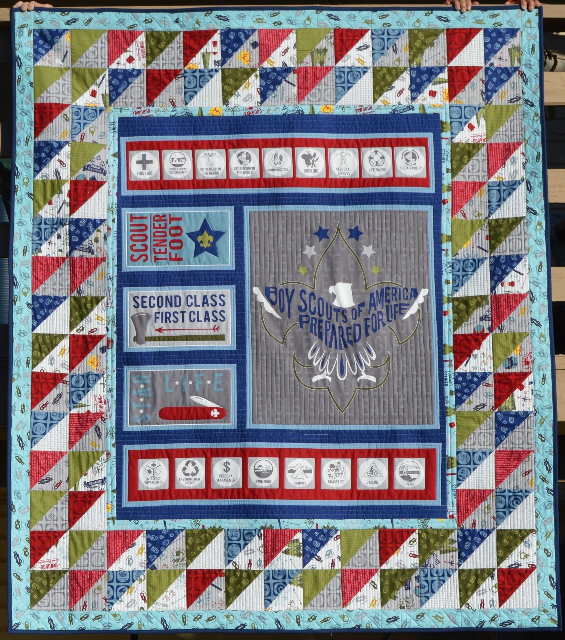Happy Quilting Modern Scout Duo Tutorial