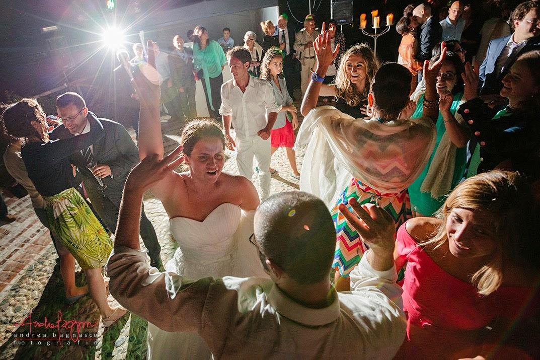 ballo degli sposi alla tenuta la Ginestra Le Manie