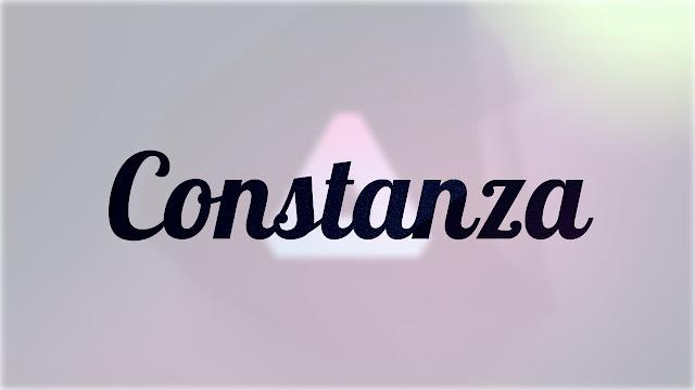 Significado Nombre CONSTANZA
