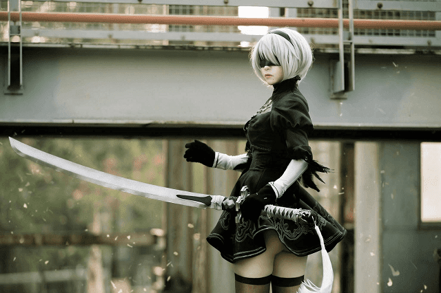 2b nier automata hd wallpaper