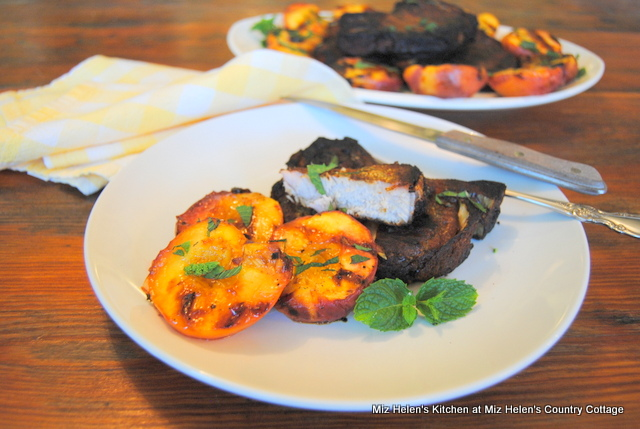 Grilled Spicy Pork Chops at Miz Helen's Country Cottage