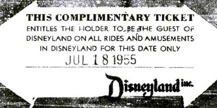 Disneyland's First Customer Ever Has Been Using His Lifetime Ticket Each Year Since 1955