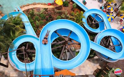 Thermas de Olímpia torna o terceiro parque aquático mais visitado do mundo