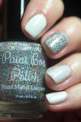 Paint Box Polish The Closest Shave You'll Ever Have, Anonymous Lacquer Bridezilla, Smitten Polish Shoe Polish