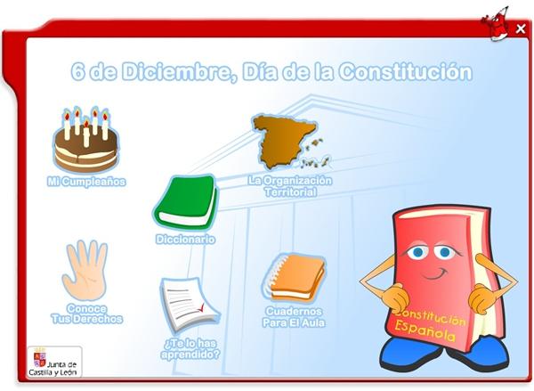 6 de Diciembre, Día de la Constitución Española Actividades interactivas
