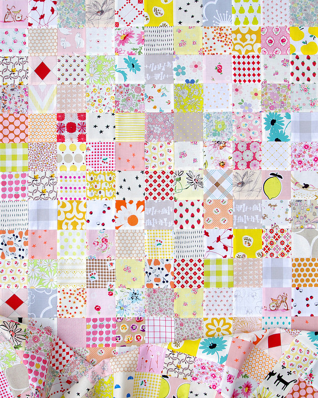 For the Love of Patchwork II ~ Work in Progress | Red Pepper Quilts 2016