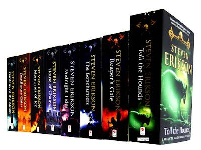 Malazańska księga poległych.. cudowny świat fantazy