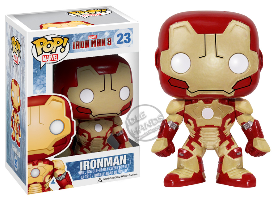 READ Funko Iron Man 3 WAR MACHINE pop Wacky Wobbler Bobble Head Figure New