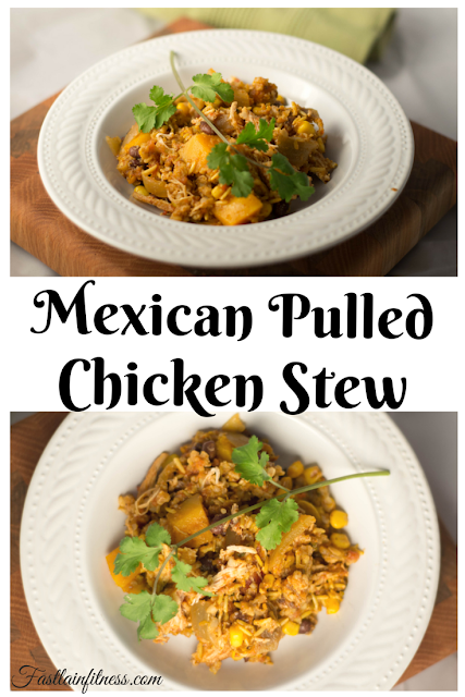 Mexican night just got easier with this pulled chicken mexican stew