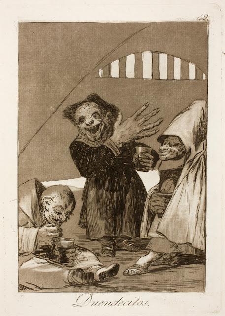 Francisco de Goya - Duendecitos de los Caprichos - 1799