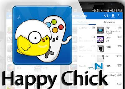 تحميل برنامج Happy chick emulator للأندرويد | تحميل الألعاب الكبيرة
