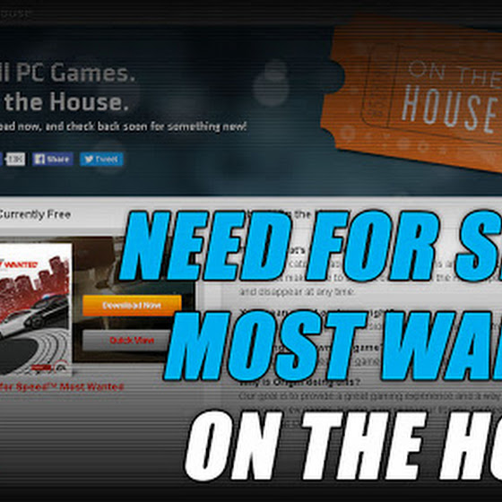 Need For Speed Most Wanted Is On The House