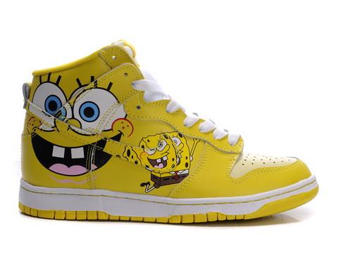 Spongebob Shoes Nike Dunks