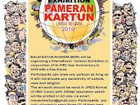 International Cartoon Exhibition 2019, Balai Kartun Rossem Malaysia