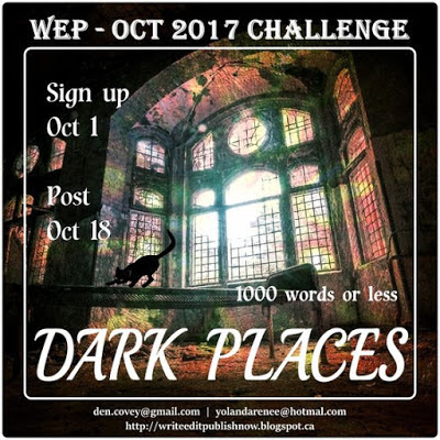 Join us for the October Challenge, it's going to be awesome, scary fun. Click image for details...