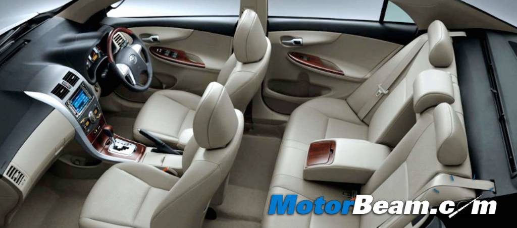 Toyota Altis Interior Car Models
