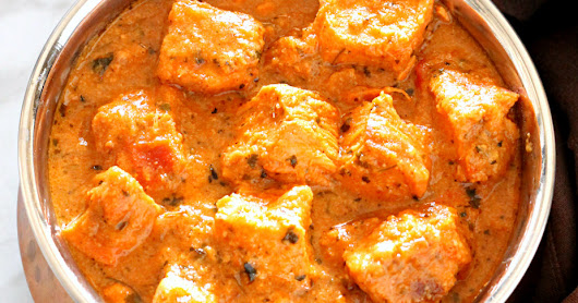 Low Fat Butter Chicken - Updated