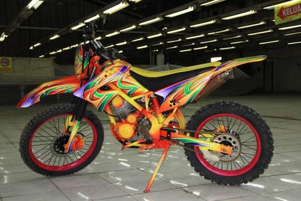 Modifikasi , Spesifikasi Dan Harga Kawasaki Kx 85 cc Ferbruari Terbaru