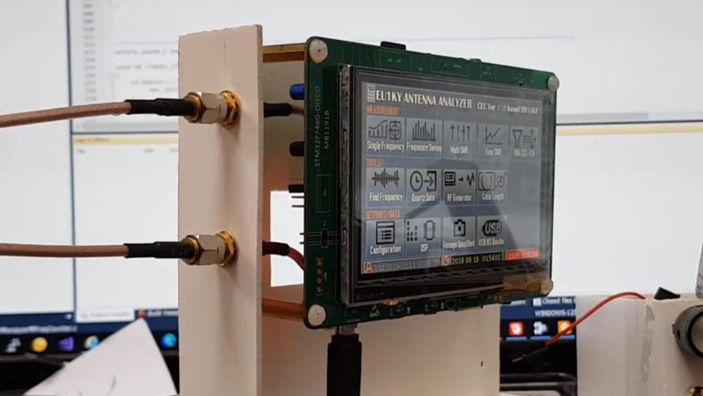 Release Firmware CEC Version 0 1 for Antenna Analyzer(EU1KY)