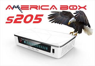 AMERICABOX S205 PRIMEIRA ATUALIZAÇÃO V1.08 P
