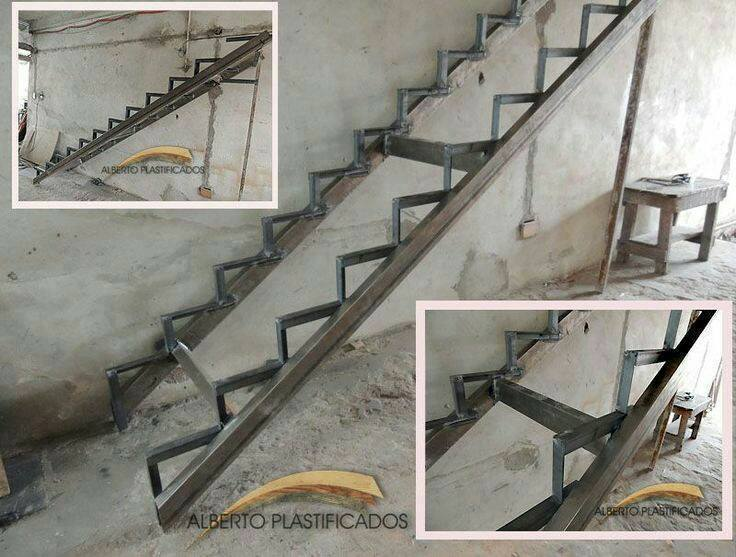 Stair construction instructions from architects decor units for Como hacer gradas de metal
