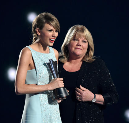 Taylor Swift reveals her mother has been diagnosed with brain tumour while undergoing treatment for breast cancer