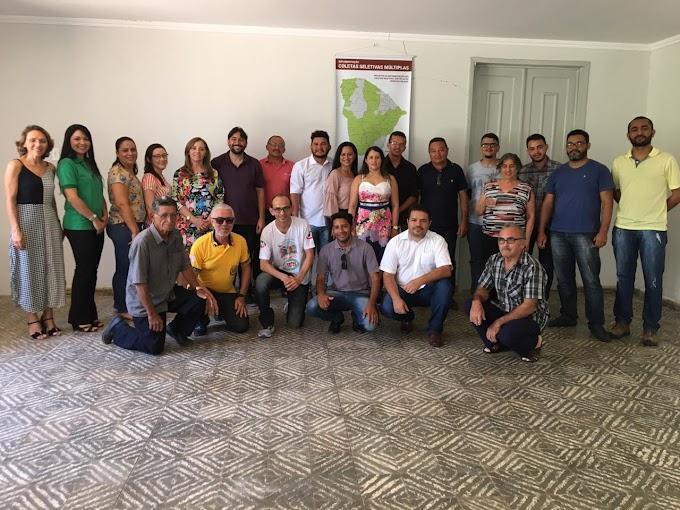 Municípios da região participaram de reunião sobre coleta seletiva em Crateús