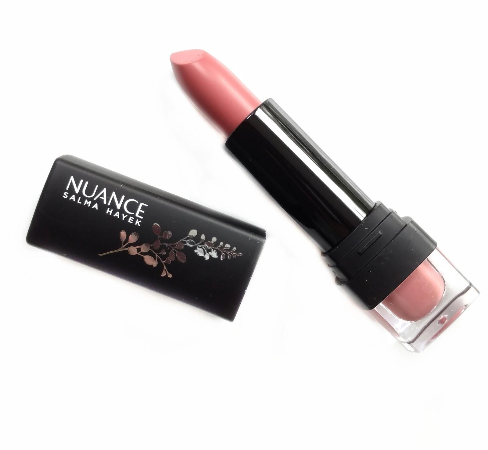 nuance salma hayek lipstick review